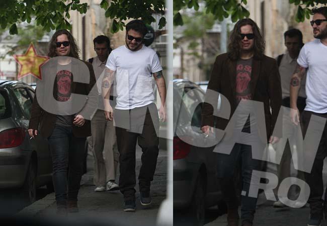 Radu Almăşan a ieşit în oraş cu prietenii.