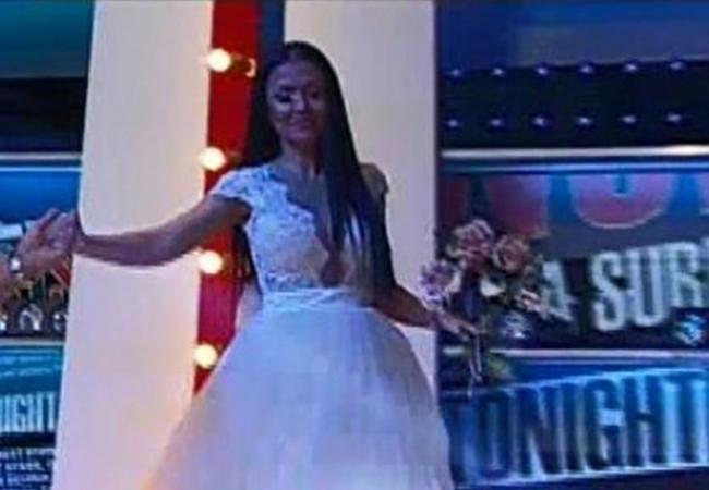 Andreea Mantea a venit în emisiunea pe care o prezintă în rochie de mireasă.