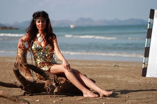 """Francesca Feraru este una dintre ispitele de la """"Insula Iubirii""""."""