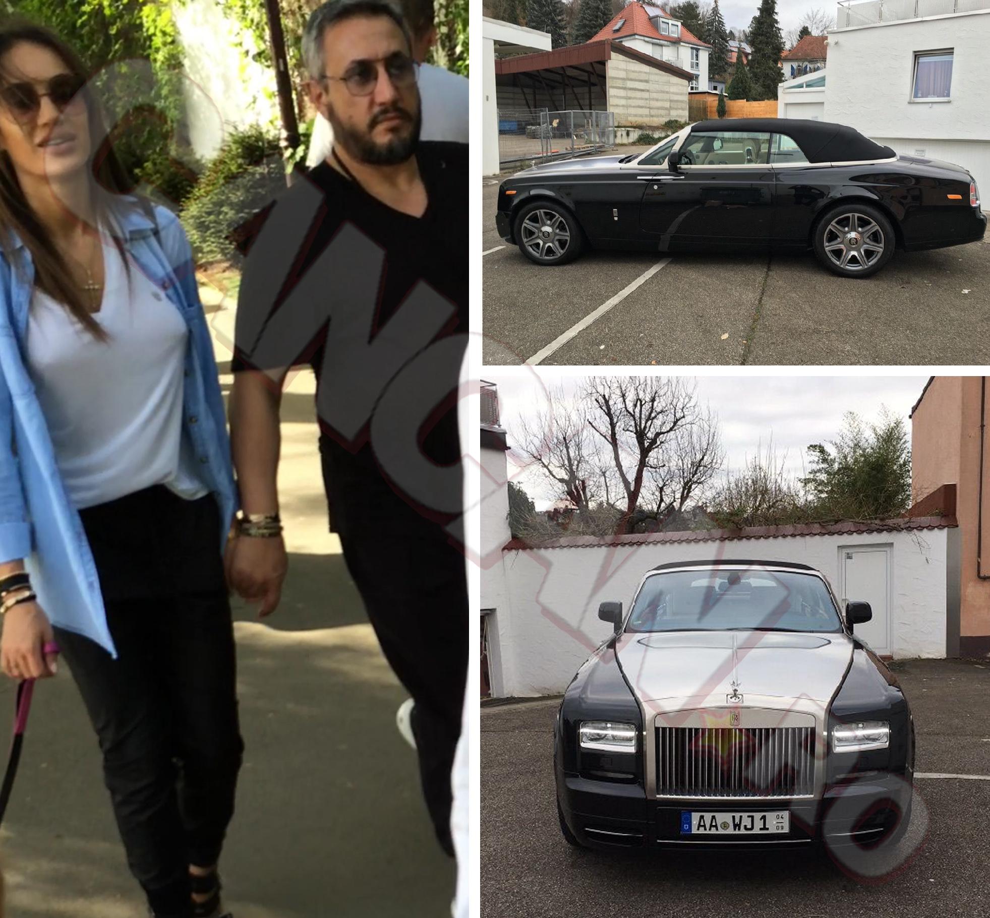 Joshua şi iubita au fost fotografiaţi weekendul trecut în Herăstrău. Aşa arată Rollsul de un sfert de milion de euro al Bossului.