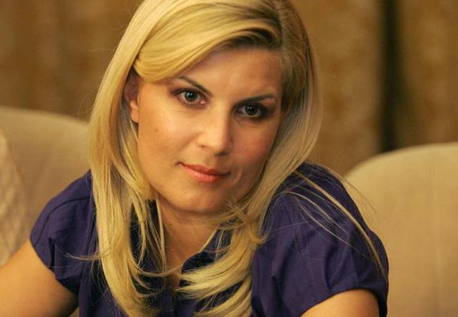 Elena Udrea are o datorie la stat de 39.000 lei.