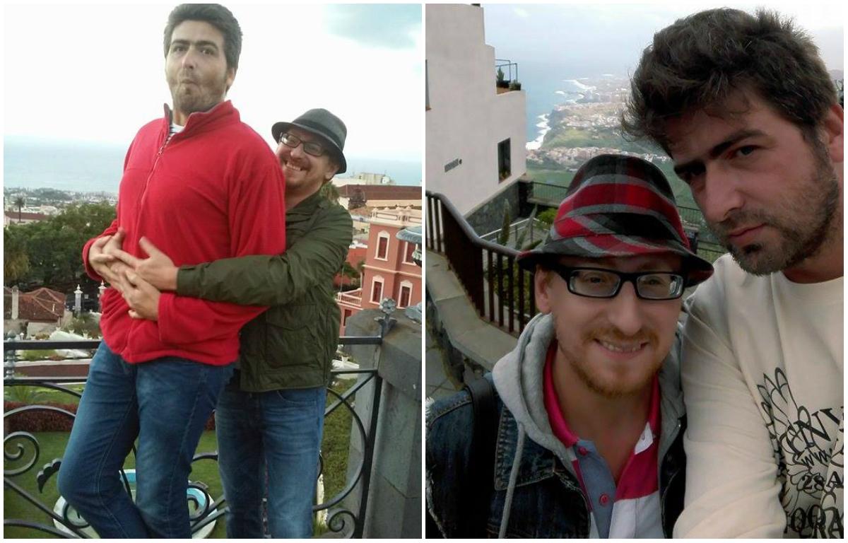 Cel mai celebru cuplu gay din România trăieşte de câţiva ani în Tenerife