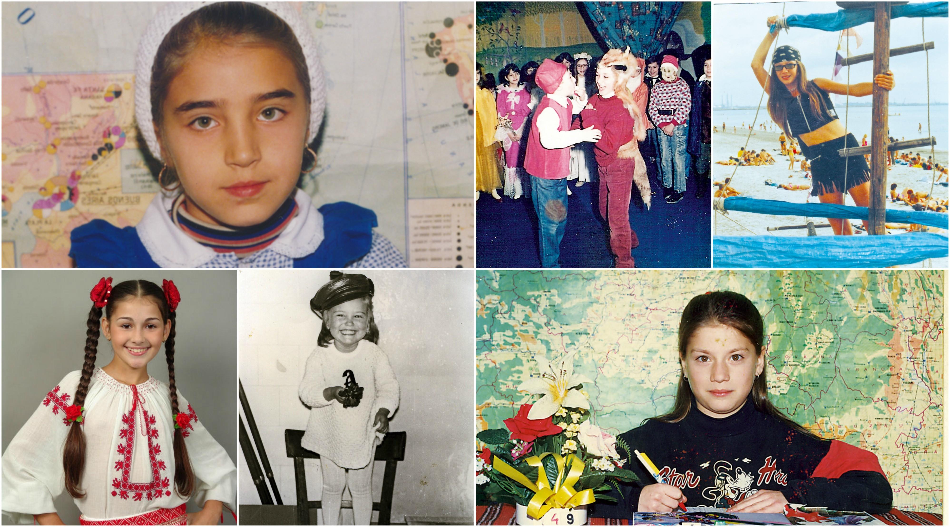De la stânga, sus: Adelina Pestriţu, Octavian Strunilă, Adela Popescu, Alina Eremia, Andreea Esca, Tili Niculae