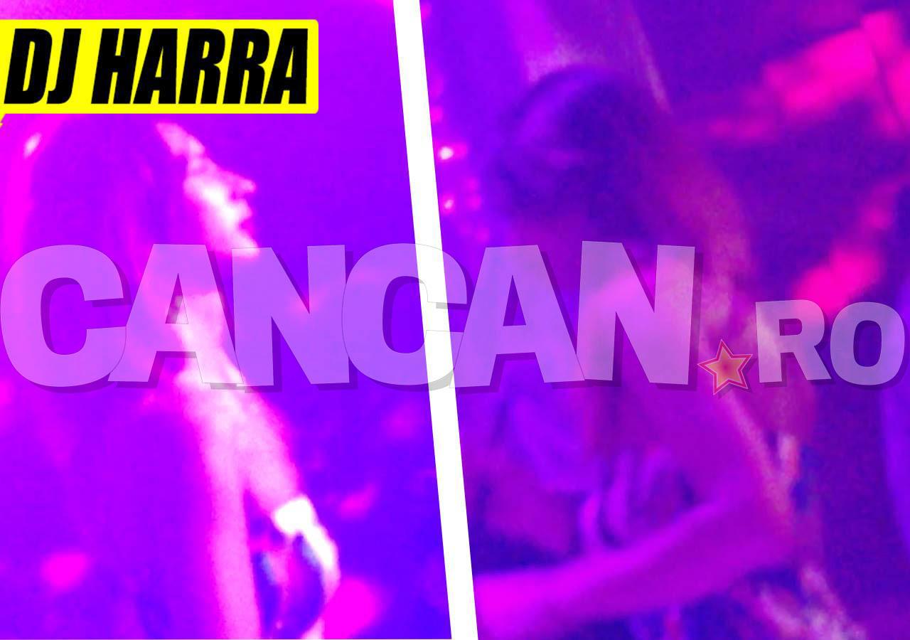 DJ Harra a ieşit în club, dar nu s-a distrat deloc. Deşi bărbaţii au roit în jurul ei, aceasta le-a dat cu flit tuturor, semn că gândul ei este tot la