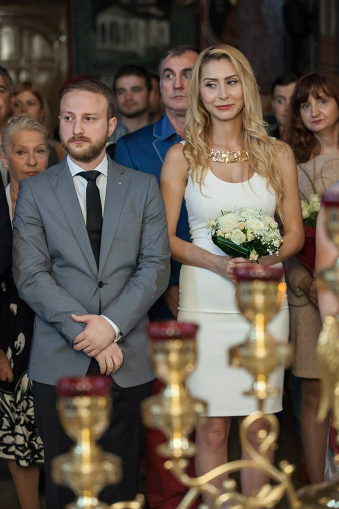 Andrei Tinu şi Alberta s-au căsătorit în 2014.