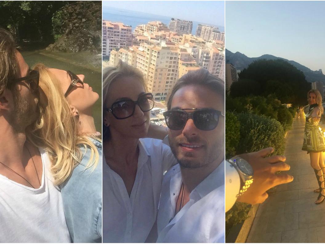 """Cătălina Balint i-a făcut cadou """"burlăcelului"""" musculos o excursie la Monaco"""