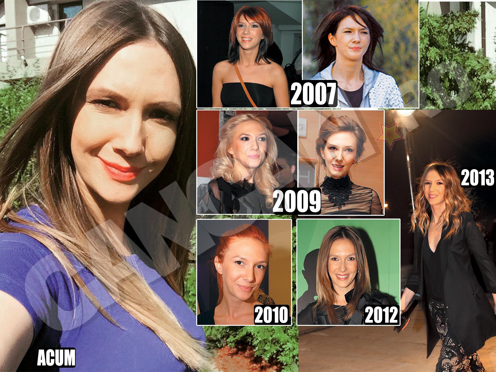 Uneori, Adela Popescu a mai dat-o şi în bară cu schimbările de look pe care şi le-a făcut.