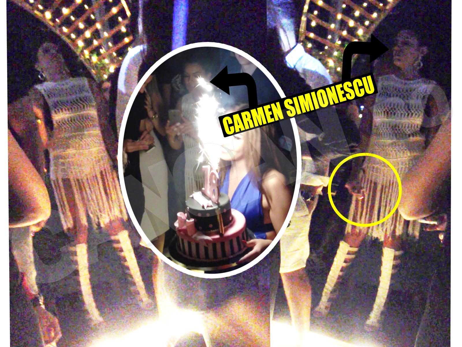 Carmen Simionescu a fumat pe ascuns, la o petrecere la care fusese invitată