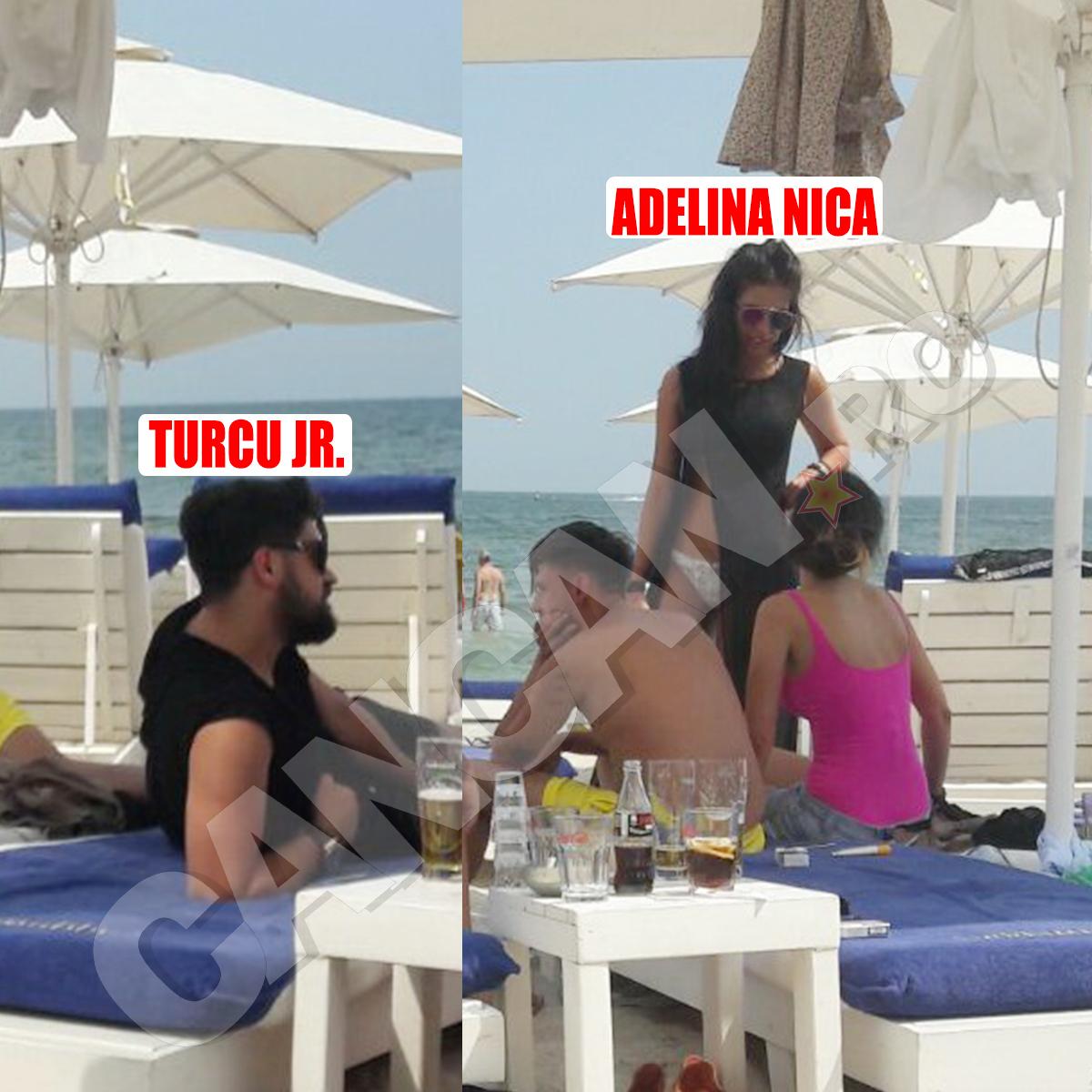 Adelina şi fiul lui Turcu au mers împreună la Mamaia.