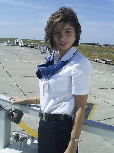 Stewardesa a supărat-o rău pe Loredana Chivu