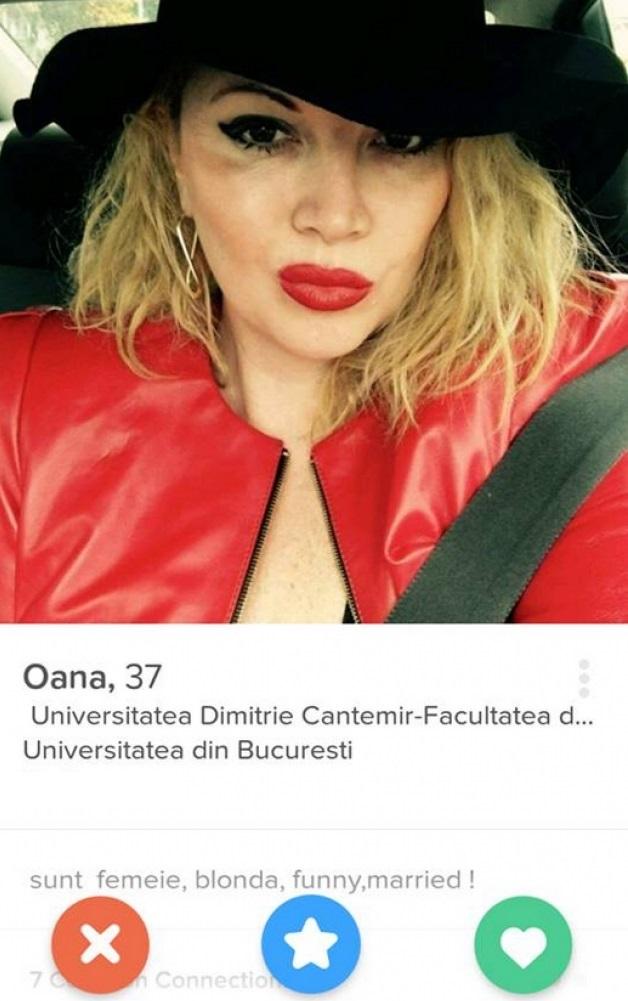 Oana Lis şi-a făcut un profil pe Tinder