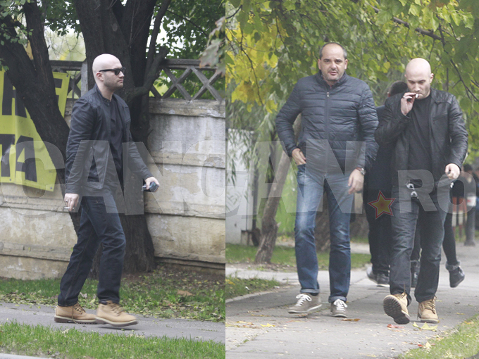 """Mihai Bendeac """"sudează"""" ţigările!"""