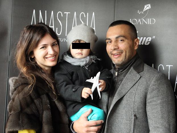 Maria Marinescu, Frank Colin şi Levin, pe vremea când formau o familie