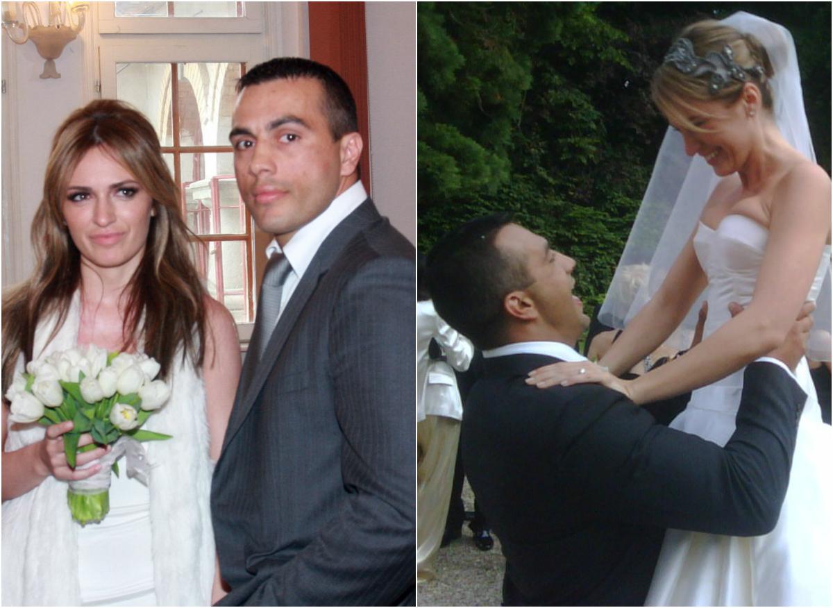 În 2009, Maria Marinescu şi Frank Colin s-au căsătorit într-un castel din Franţa. Cununia civilă a celor doi a avut loc în România
