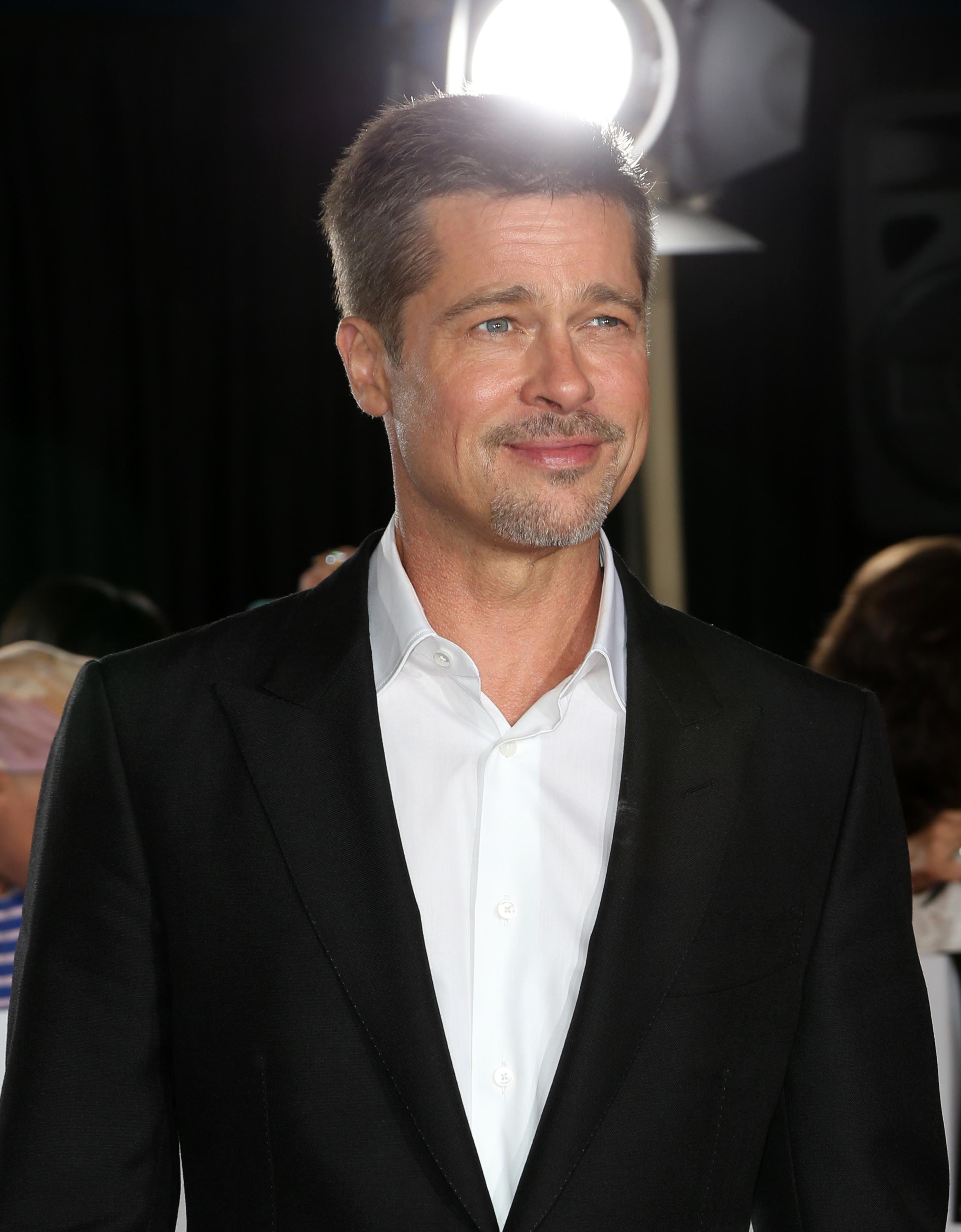 Aşa arată acum Brad Pitt.