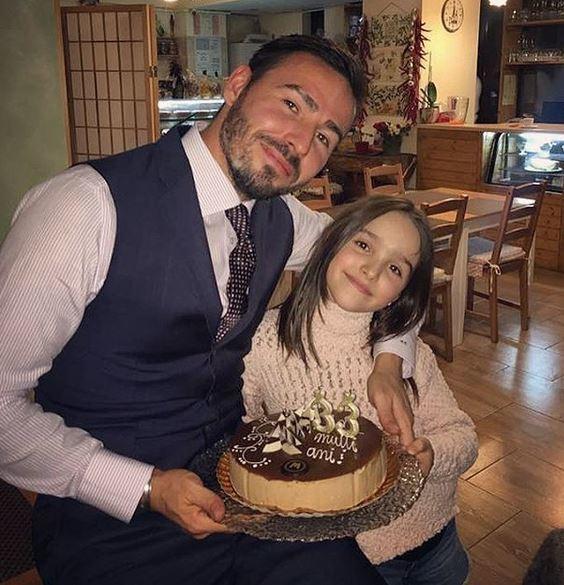 """""""Prinţul"""" Cristea a sărbătorit alături de fiica sa"""