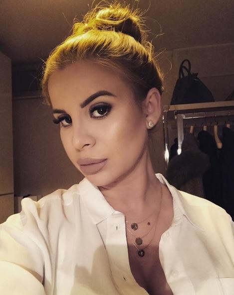 Marina Dina le-a arătat internauţilor ultimul selfie cu ea înainte să devină mămică