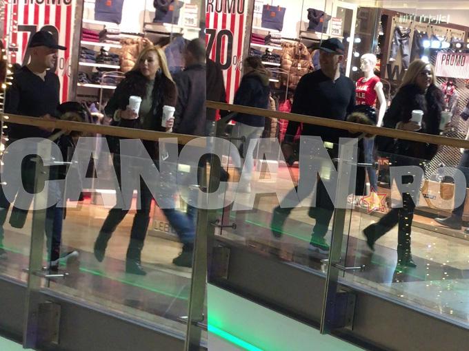 Costi Ioniţă s-a plimbat în mall cu o blondă.