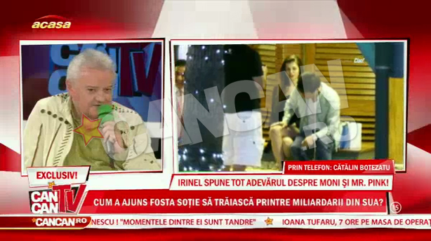 Irinel a vorbit in exclusivitate la CANCAN TV despre frecventa redusa cu care Moni ia legatura cu fiica ei
