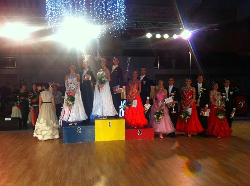Alina a pierdut locul 1 la una dintre cele mai importante competitii din dansul sportiv in favoarea lui Rares Cojoc, iubitul dansatoarei Andreea Popescu