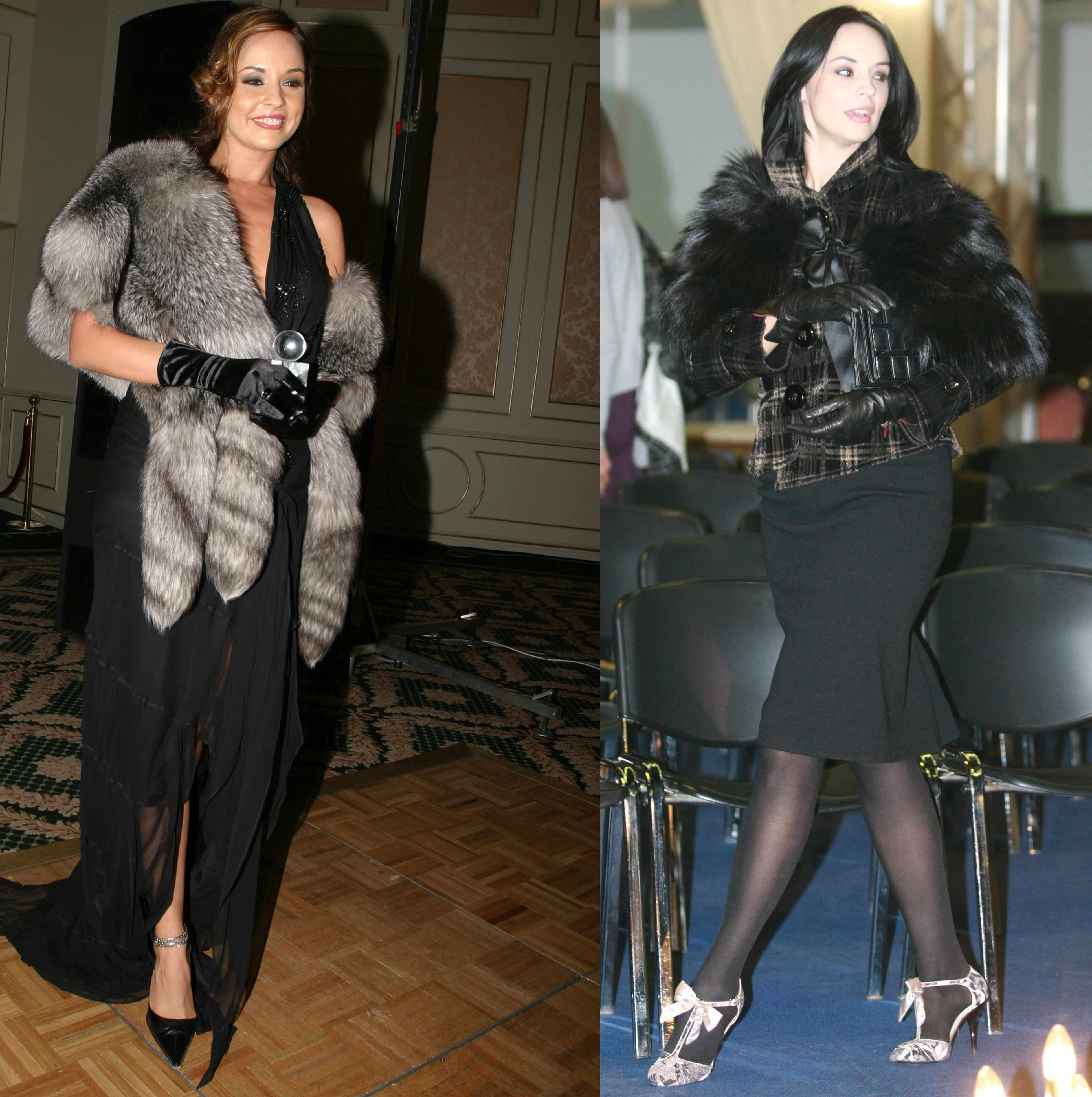 Andreea Marin adora hainele si accesoriile din blana, avand o colectie impresionanata, in garderoba personala