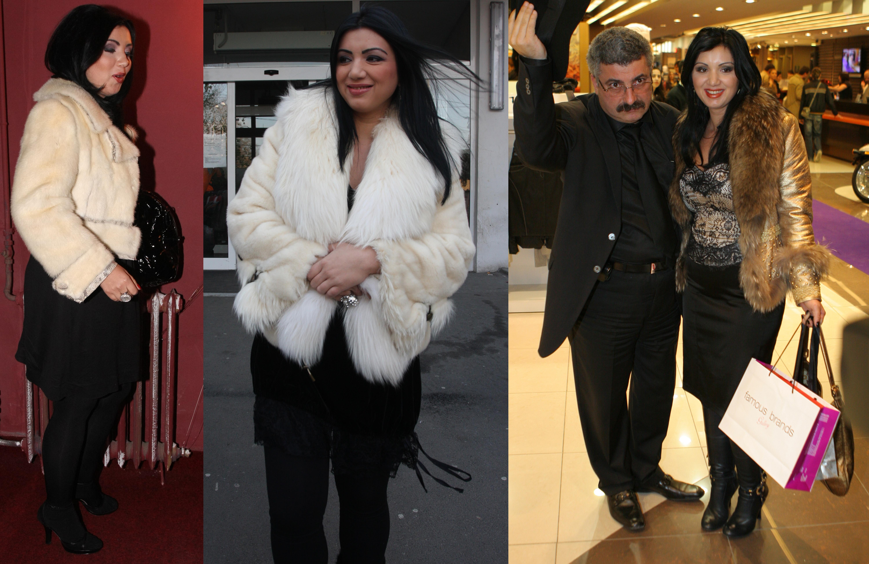 Adriana Bahmuteanu este una dintre vedetele cu cele mai multe articole vestimentare din blana, din showbiz-ul autohton
