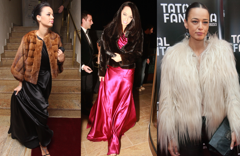 Adepta a stilului clasic-elegant, Andreea Raicu adora blanurile, insa prefer hainele scurte sau capele