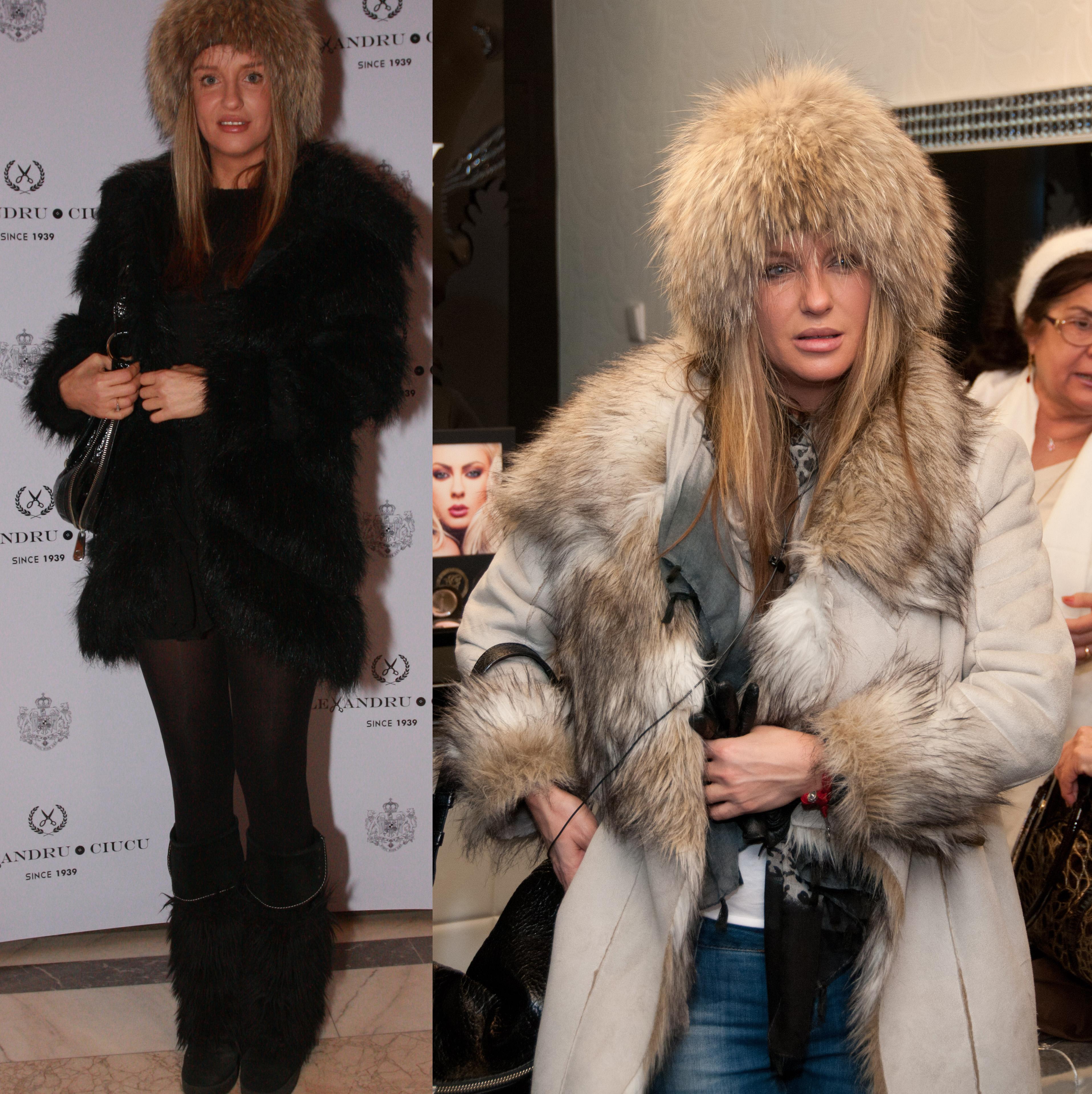 Iubitoare de animale, Tania Budi are mai multe haine din blana artificiala si o singura caciula din blana naturala de vulpe