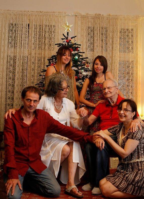 De Craciun, alaturi cu o parte din familie