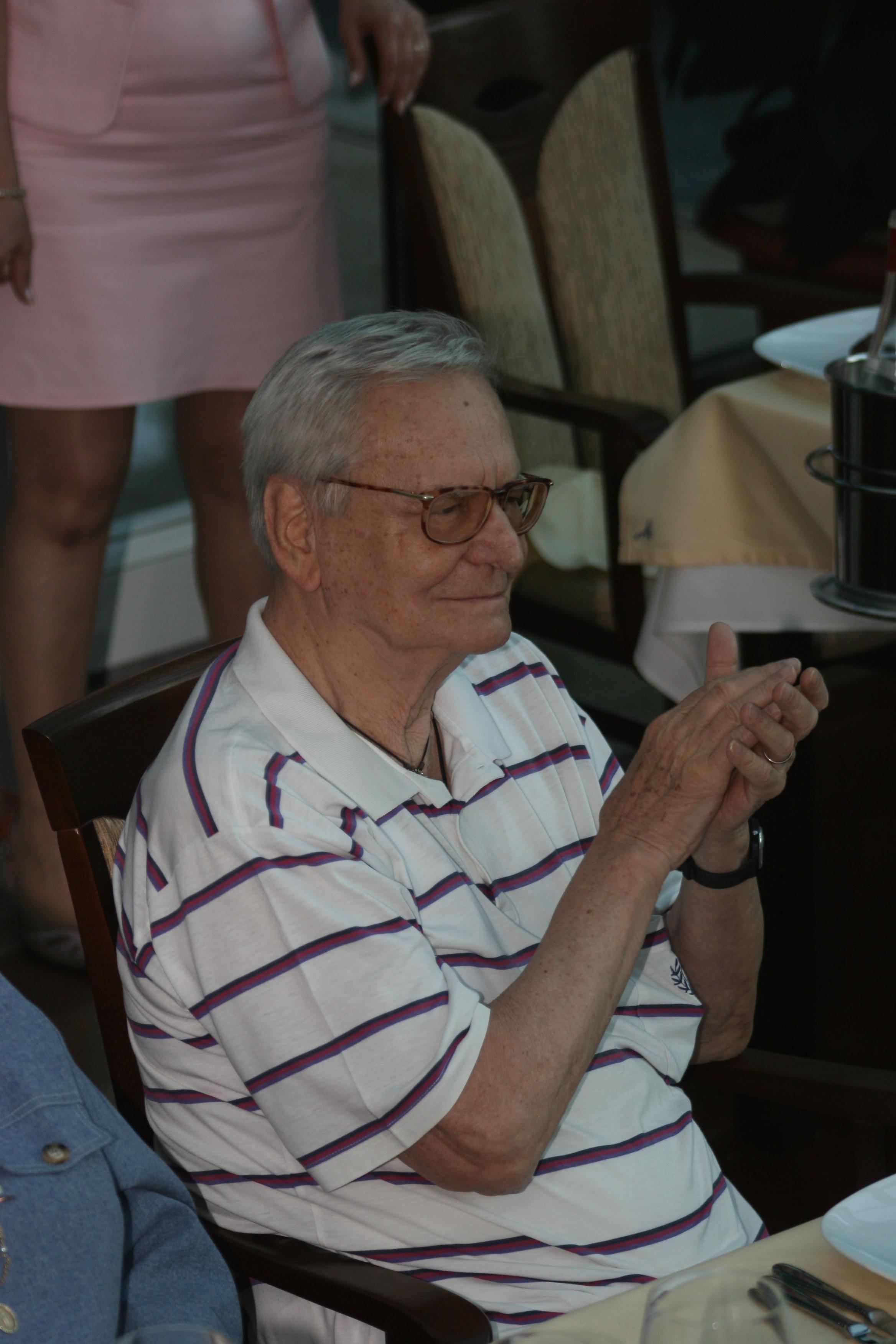 La cei 94 de ani, Radu Beligan este in continuare dedicat scenei
