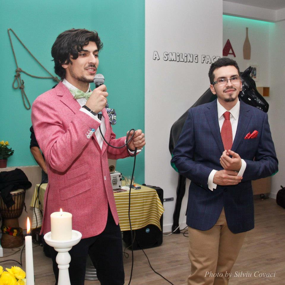 Alex Petricean si Bogdan Alexandrescu au fost gazdele evenimentului de lansare a propriului restaurant