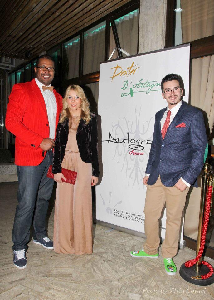 Pasionata de gastronomie, Andreea Ibacka a fost un fan declarat al show-ului MasterChef, asa ca nu a putut rata evenimentul