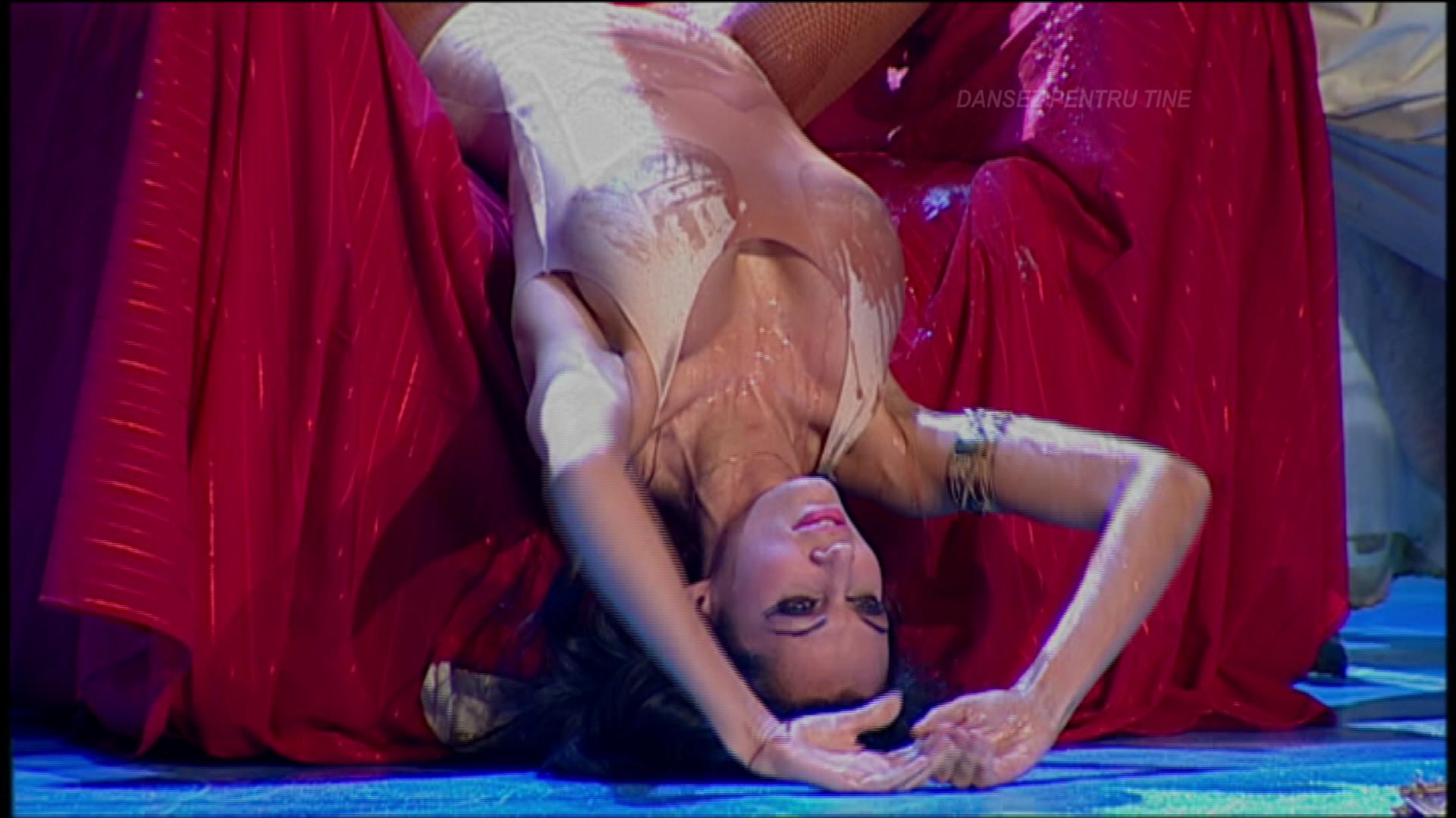 Nicoleta a facut un show memorabil in ring