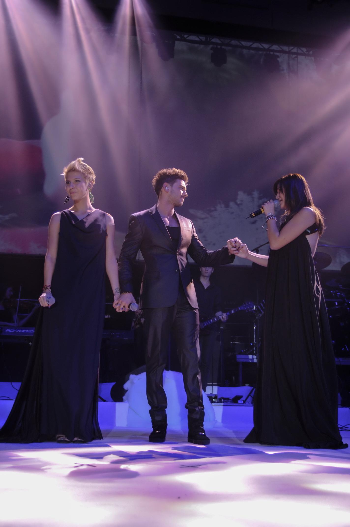 La Sala Polivalenta, Dorian a cantat alaturi de Sore si Alina Irimia