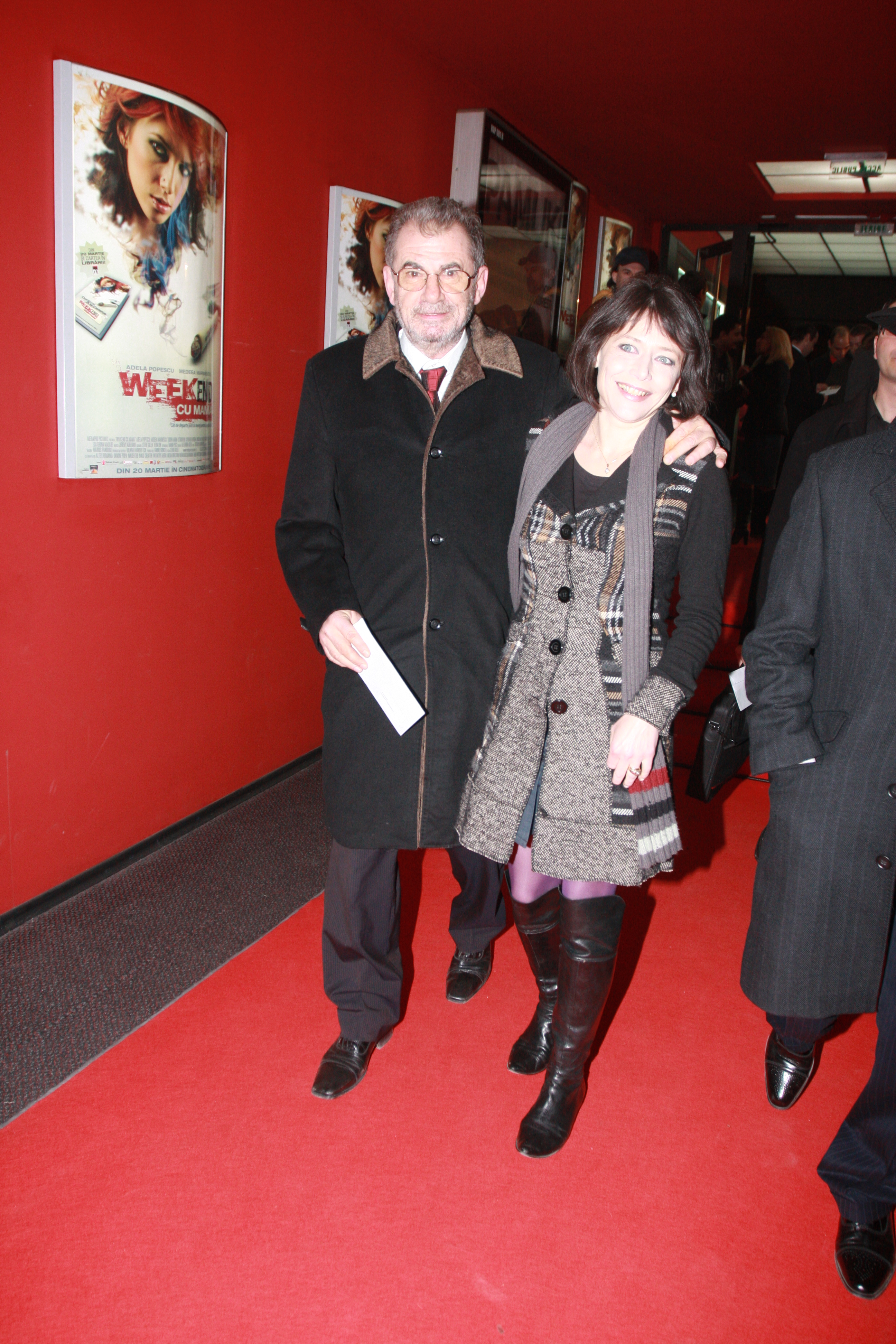 Florin Zamfirescu a fost casatorit 21 de ani cu actrita Catalina Mustata