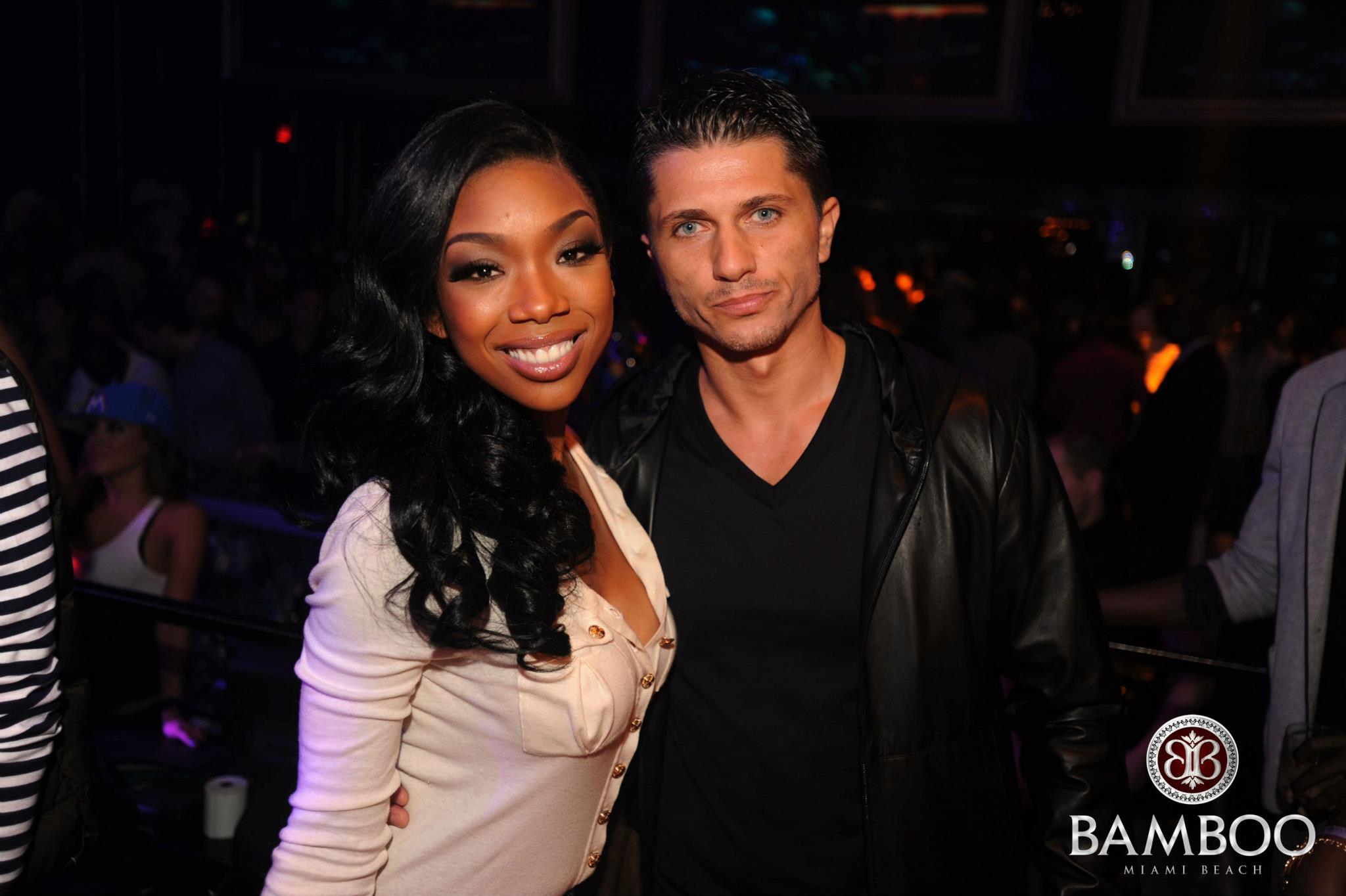 Brandy este si ea o admiratoare a clubului din Miami