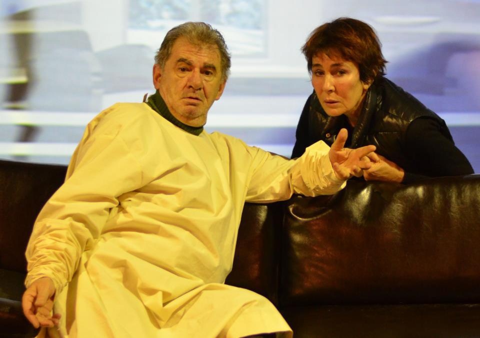 Florin Zamfirescu si Ioana Pavelescu fac parte din distributia spectacolului