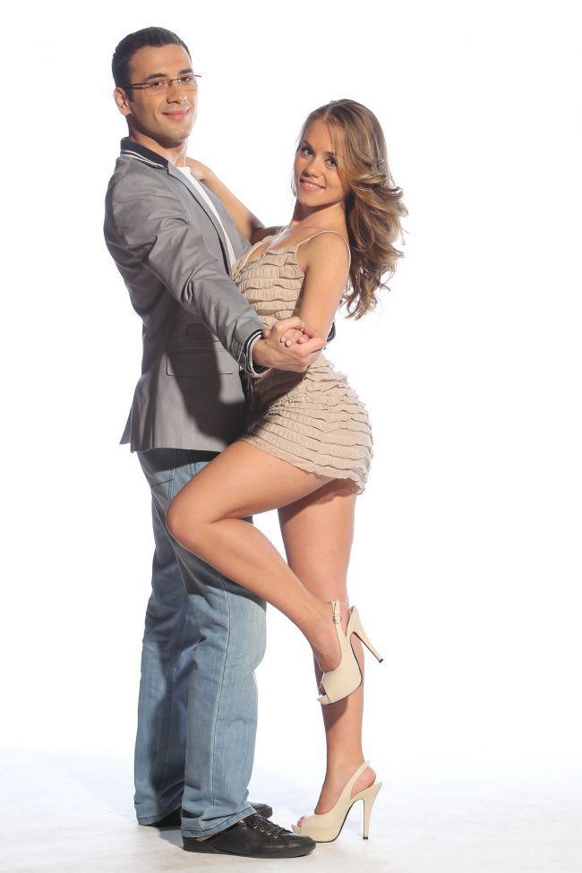 Alexandra Maresi a dansat cu Daniel Nitoiu la