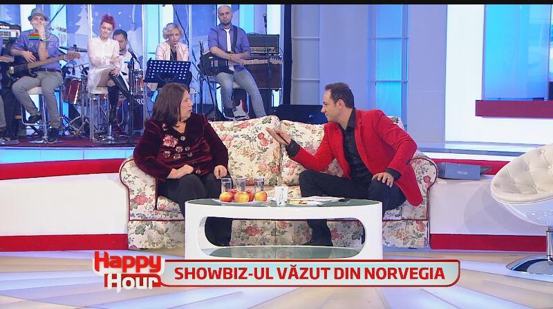 Doamna Bamboi, mesaje emoţionante pentru Andreea Marin şi Ştefan Bănică Jr., la Happy Hour: