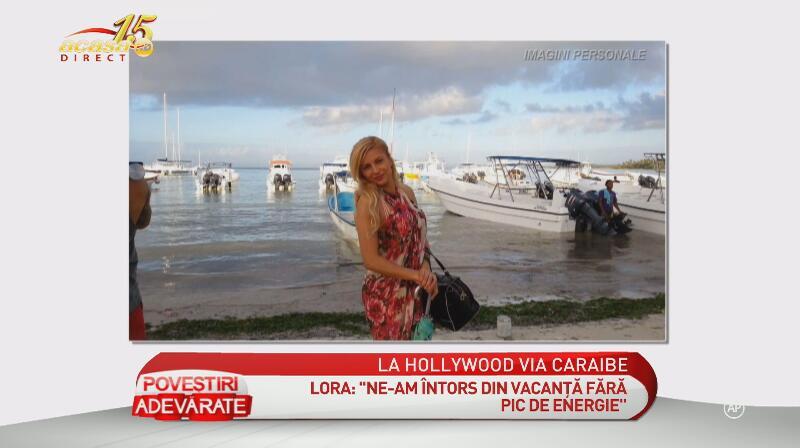 Fotografii de senzaţie! Lora şi soţul Dan Badea au avut o vacanţă de poveste în Caraibe şi State!