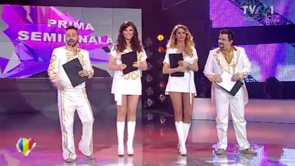Andreea Banica, Paula Seling, Ovi si actorul Marius Rizea