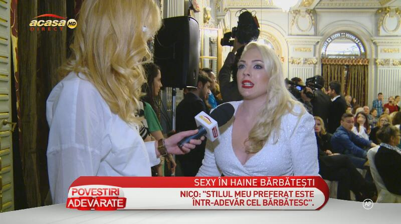 Femeile din showbiz-ul românesc şi pasiunea lor pentru hainele bărbăteşti! Află ce-ar purta Alina Sorescu, Nico sau Maria Radu!
