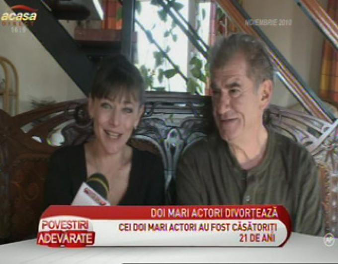 Fata actorului Florin Zamfirescu, despre divorţul acestuia de Cătălina Mustaţă: