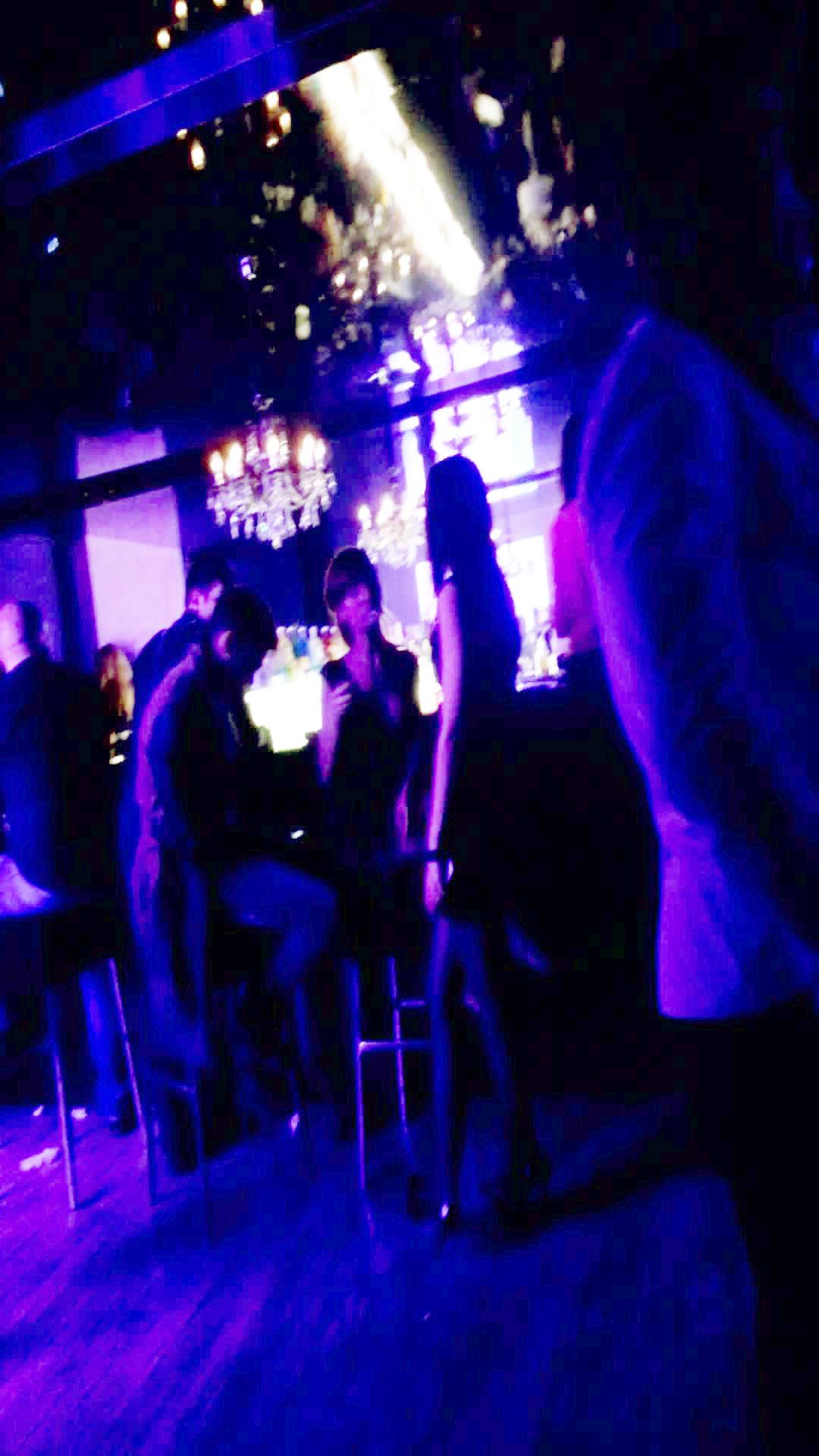 Dorian si iubita lui au stat doar cateva clipe in clubul unde avea loc striptease masculin