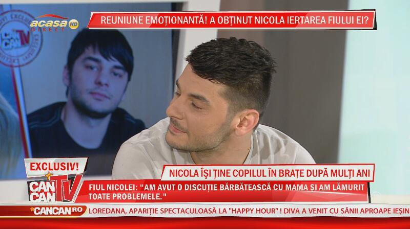 Adevărul despre relaţia dintre Nicola şi fiul ei!