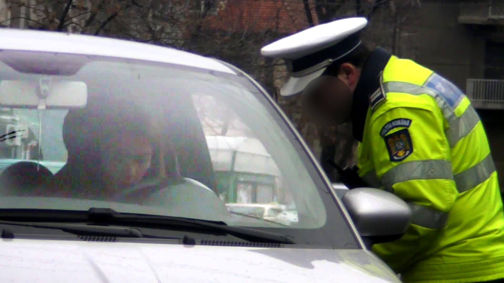 Diana Dumitrescu l-a induplecat pe politist si a scapat de data aceasta doar cu un avertisment