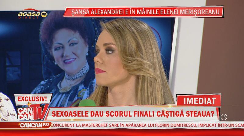 Elena Merişoreanu a înfiat o fostă concurentă de la