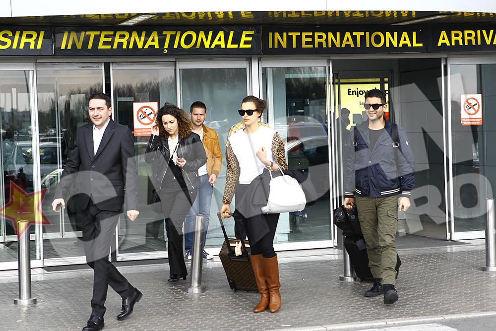 Irina a ajuns la Bucuresti putin inainte de ora 18.00