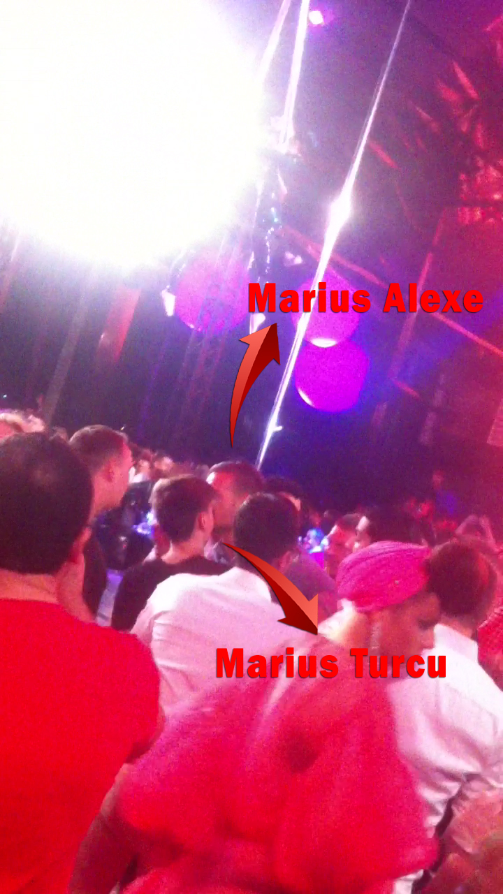 Marius Turcu incearca sa-l calmeze pe Alexe