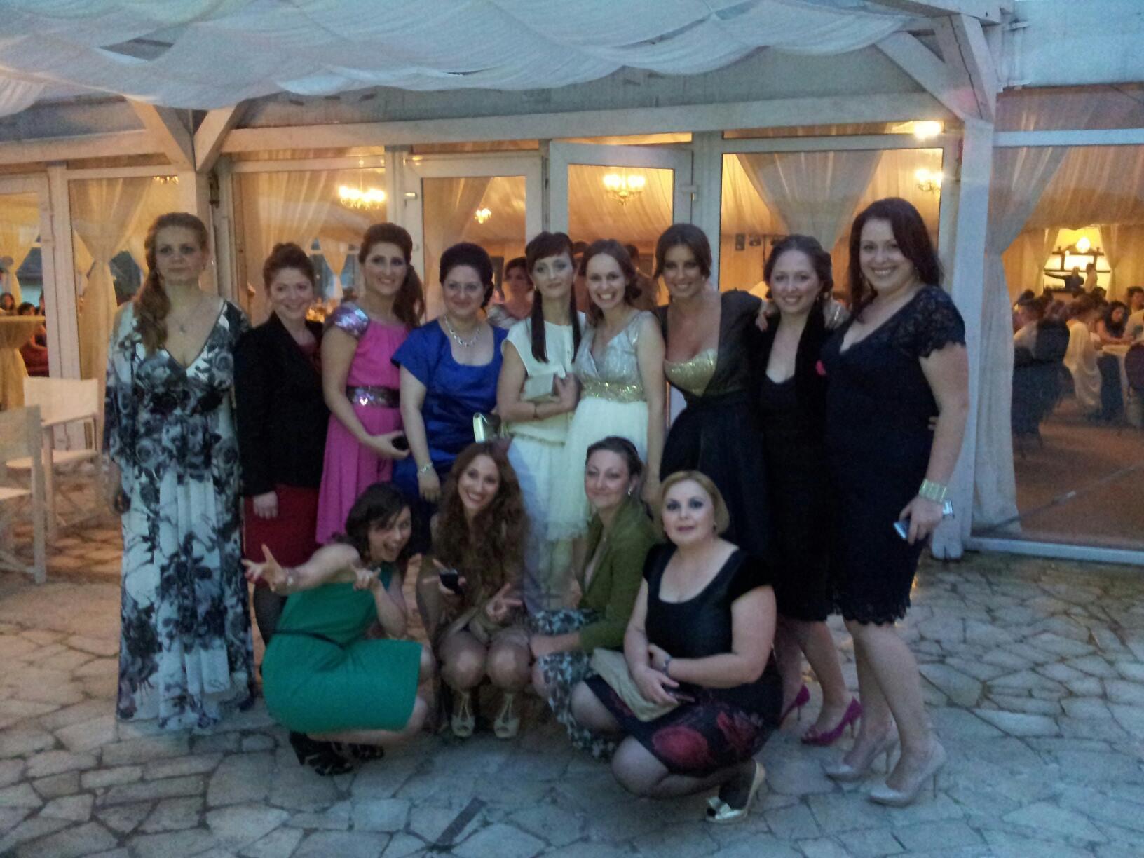 Vedeta a mers pana la Oradea pentru a-si revedea fostii colegi